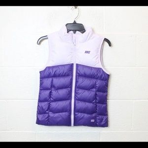 NWT Nike Girl's Purple Vest Size M